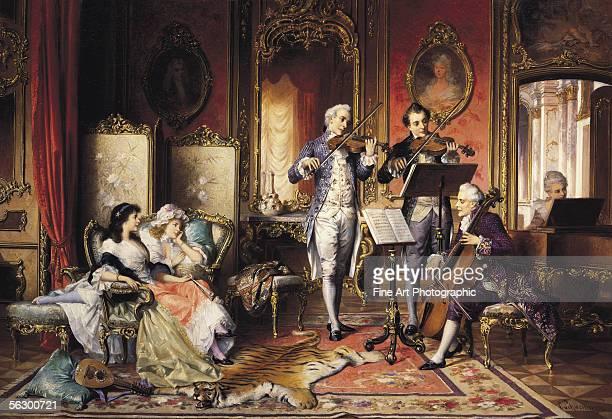 A musical interlude Artist b 1818 d 1887