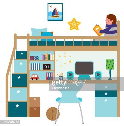 My child room : Stock Illustration