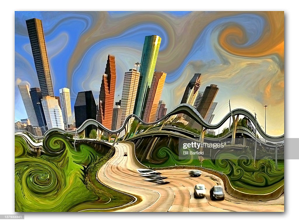 My Home Town : Stock Illustration