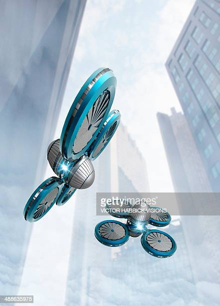 Nano spy drones, artwork
