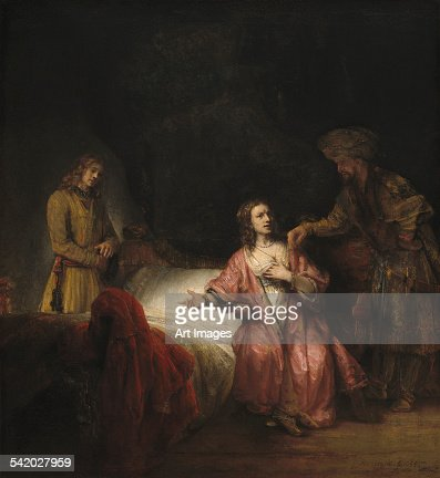 Fine Arts/Analysis of Rembrandt Joseph Accused by Potiphars wife term paper 4078