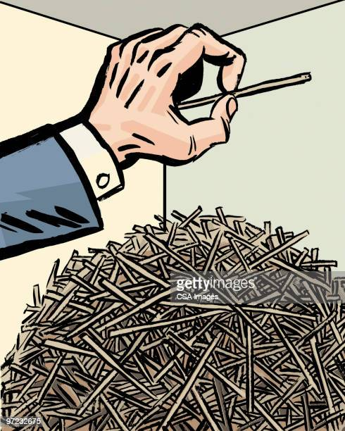 Illustrations et dessins anim s de chercher une aiguille dans une botte de foin getty images - Une botte de foin ...