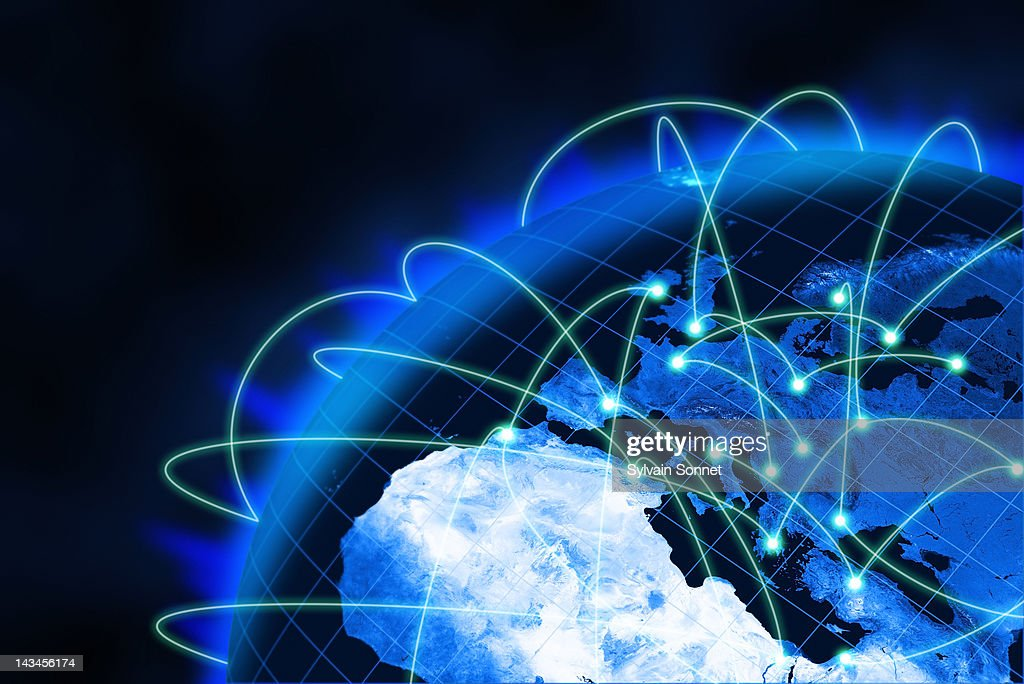 Networking : Stock Illustration