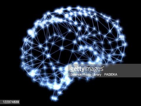 Neural network : Stock Illustration