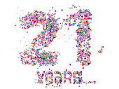 21 Years, birthday, anniversary,