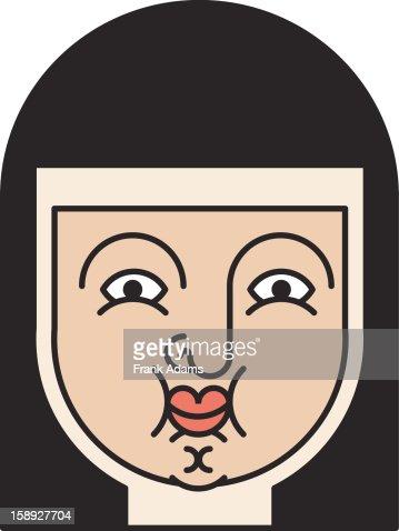 A nun : Stock Illustration