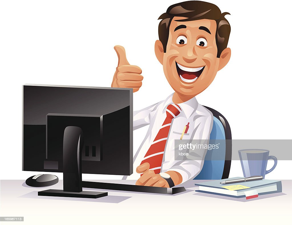 free clipart office worker - photo #14