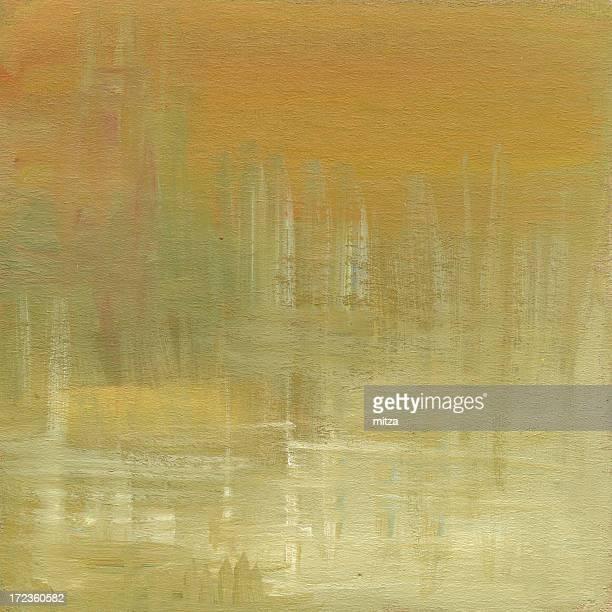 Huile peinte arrière-plan abstrait