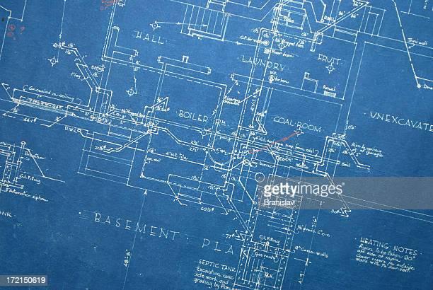 Ilustraciones de stock y dibujos de calentador de agua getty images old blueprint calefaccin malvernweather Images