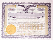 U.S. Stock certificate issued in 1919.  -  See lightbox for more