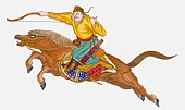 One of Genghis Khan's soldiers