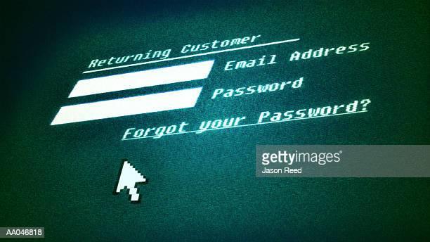 Online password protection (Digital)