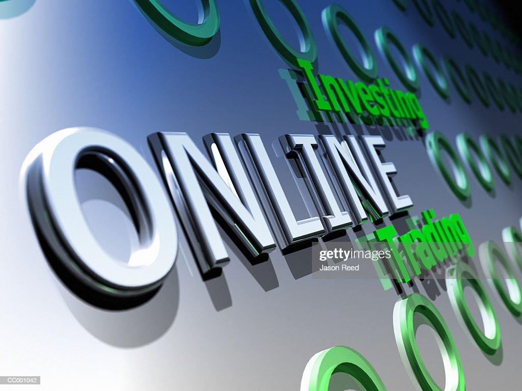 Online Trading : Stock Illustration