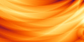 Wide abstract orange sunny web background