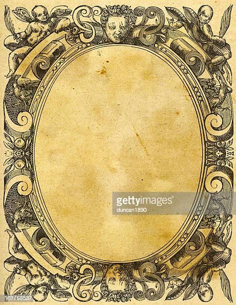 Ornate Retro Picture Frame