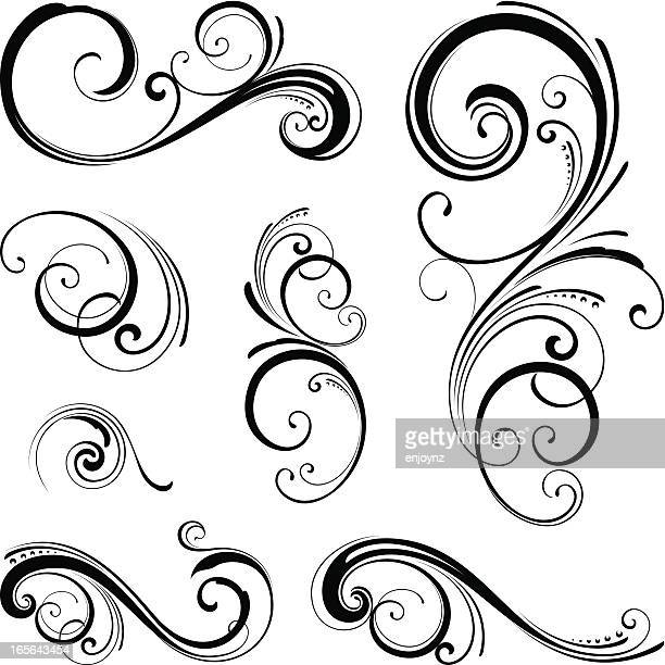 Ornate swirls