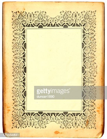 paper frame stock illustration
