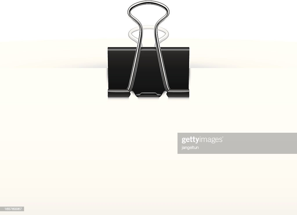 paperclip vector art getty images