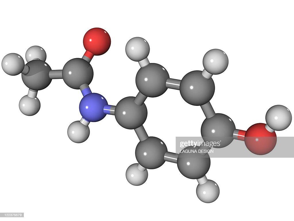 Acetaminophen - Paracetamol Chemical Structure