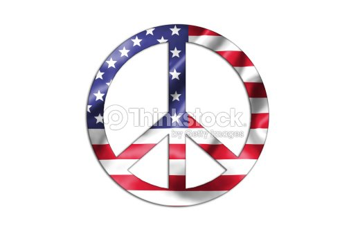 Peace And Love Symbol Stock Illustration Thinkstock
