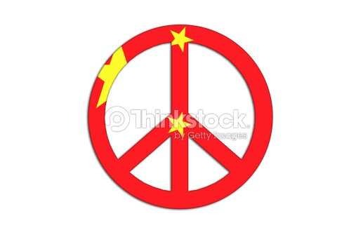 Peace And Love Symbol Stock Illustration Thinkstock
