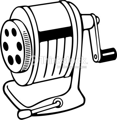 Pencil Sharpener Vector Art