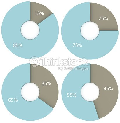 15 25 35 45 55 65 75 85 percent blue and grey pie charts isolated 15 25 35 45 55 65 75 85 percent blue and grey pie charts isolated percentage infographic symbol set 3d render circle diagram signs ccuart Images