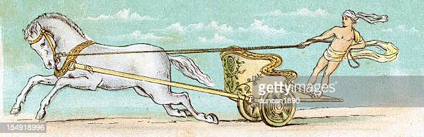 Perseus and his chariot