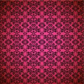 Pink seamless wallpaper abstract design background