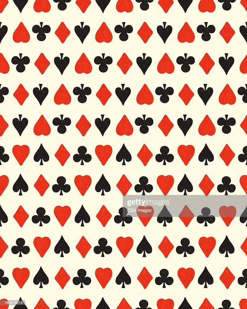 Playing Card Symbols : Stock Illustration