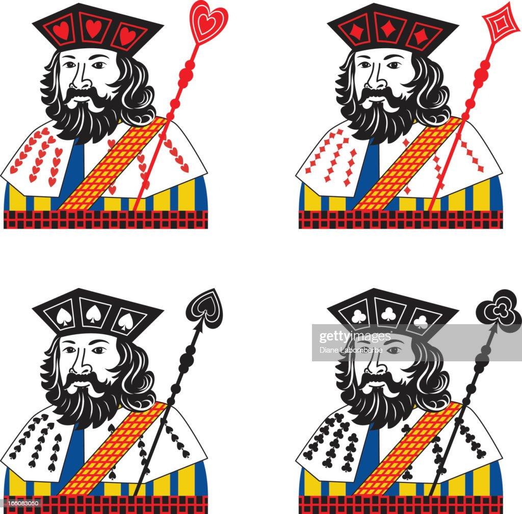 Playing Cards Jacks Vector Illustration : Vector Art