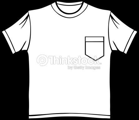 Pocket T Shirt Vector Art