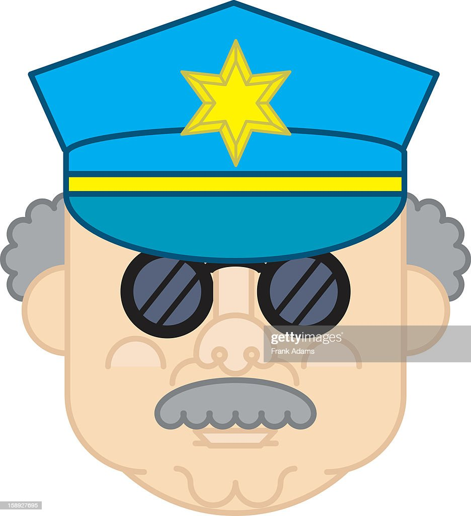 A police Officer : Stock Illustration