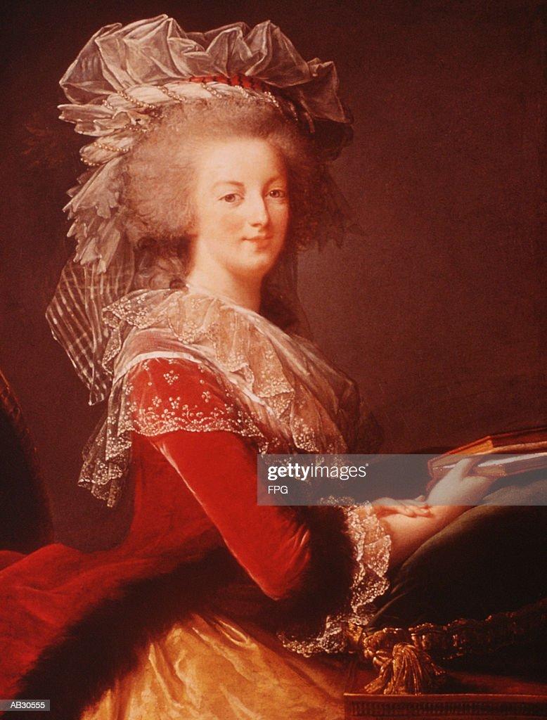 Portrait of Marie Antoinette : Stock Illustration