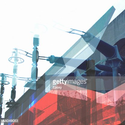 Power station : Stock Illustration