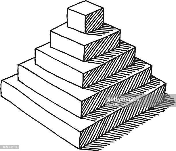 Pyramid shape stock illustrations and cartoons getty images - Dessin de pyramide ...