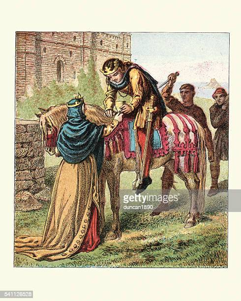 Queen Elfrida and the murder of King Edward the Martyr