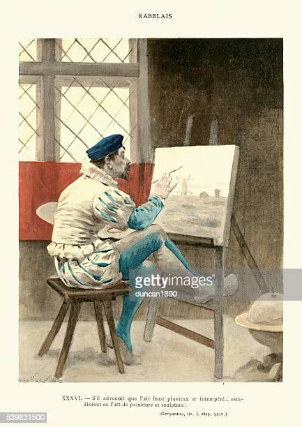Rabelais - Games of Gargantua painting pictures
