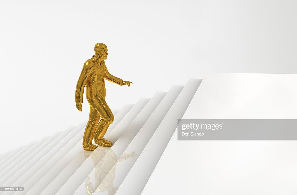 Reach The Top : Stock Illustration