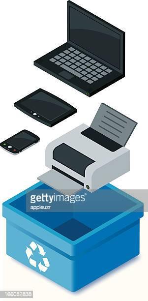Electrónica de reciclaje