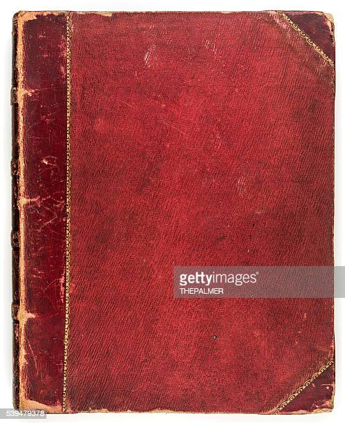 Red antique book