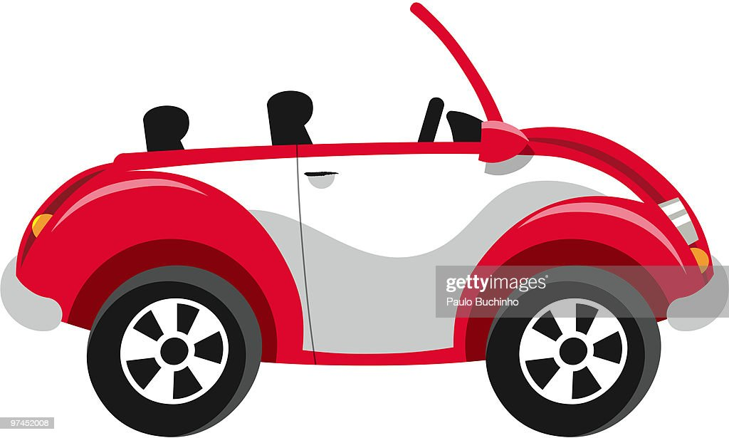 A red car : Stock Illustration