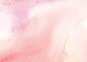 Watercolor background in red and pink tones.