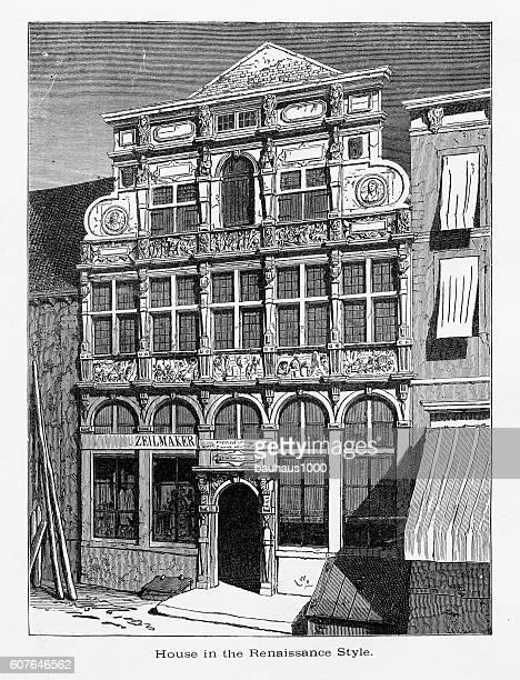 Renaissance Style House, Middleburg, Zeeland, Netherlands 1887