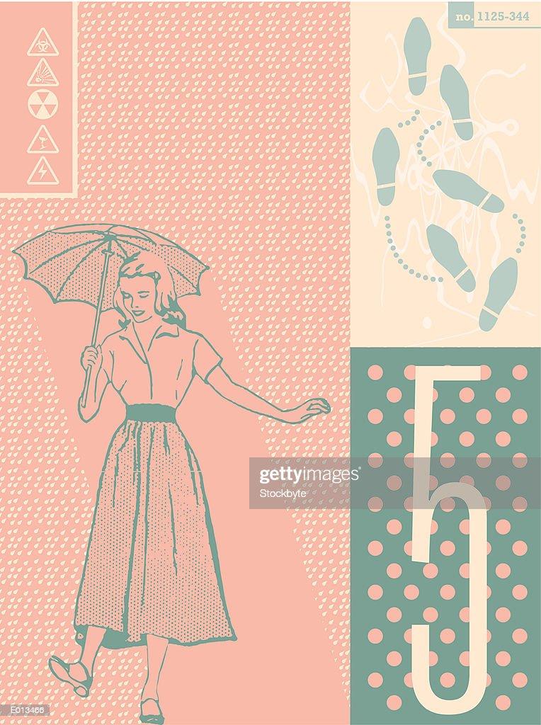 Retro motif : Stock Illustration
