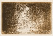 Retro sepia wall surface close up with faded borders for texture or background.