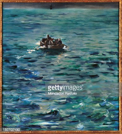 Rocheforts Escape, by Edouard Manet, 1881, 19th Century, oil on canvas, cm 80 x 73. : Fine art