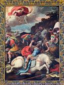 Rome - The Conversion of st. Paul painting of Marco da Siena (1545) in church Santo Spirito in Sassia.