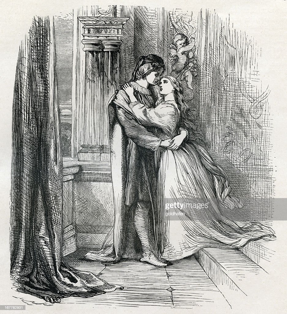a description of romeo and juliet a romantic tale by william shakespeare Plot summary of shakespeare's romeo & juliet: a fight between the young  he  will see his adored rosaline but instead he meets and falls in love with juliet.