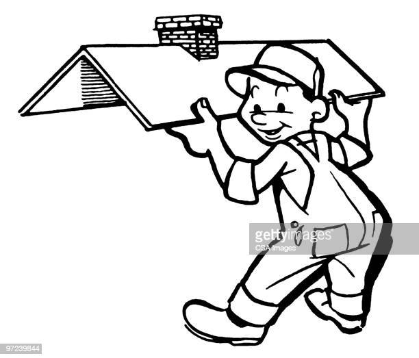 Roofer Stock Illustrations And Cartoons Getty Images
